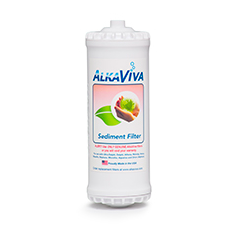 AlkaViva Sediment Filter for Athena Alkaline Water Ionizer - Purely Water Supply
