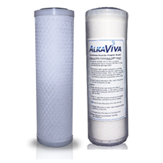AlkaViva UltraWater Fluoride Shield External Filter System for Alkaline Water Ionizers - Purely Water Supply