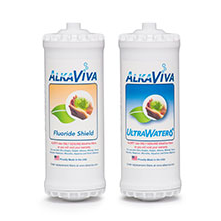 AlkaViva UltraWater with Fluoride Shield for Athena Alkaline Water Ionizer - Purely Water Supply