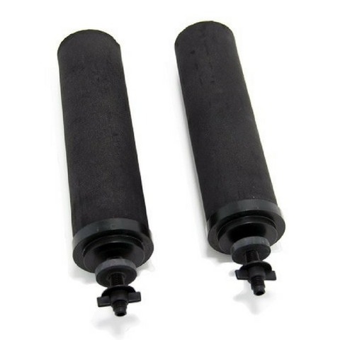 Black Berkey Water Purification Filter Elements 2-Pack (BB9-2) - Purely Water Supply