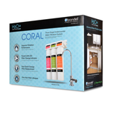 Brondell Coral UC300 Three-Stage Under-Counter Water Filtration System - Purely Water Supply