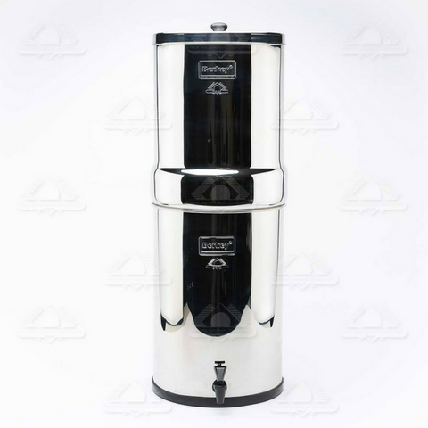 Crown Berkey Water Filter 6 gal with 6 Black Berkey Purification Elements (CRN8X6-BB) - Purely Water Supply