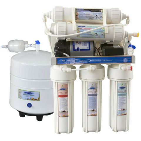 Crystal Quest 100 GPD 4000MP Under-Sink Reverse Osmosis (RO) Water Filter (CQE-RO-00116) - Purely Water Supply