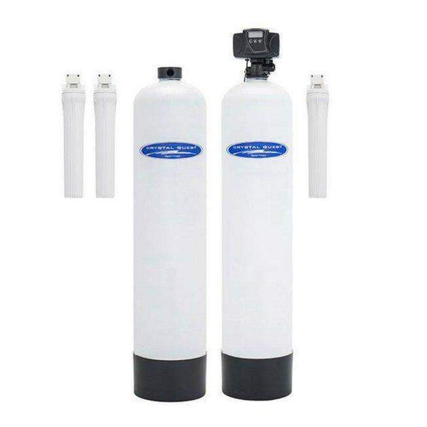 Crystal Quest 1.5 cuft. Fiberglass Eagle 4,000 Series Whole House Water Filter with Salt-Free Softener Combo (15 Stages) CQE-WH-02136 - Purely Water Supply