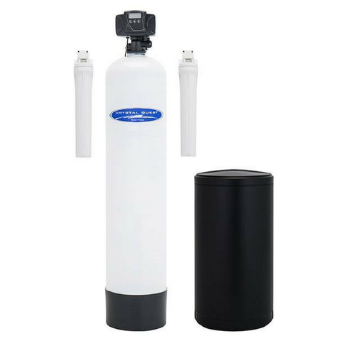 Crystal Quest Fiberglass 1.5 Cubic Feet SMART Turbo Lead Removal and Softening Whole House Water Filter (CQE-WH-01275) - Purely Water Supply