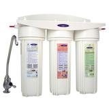 Crystal Quest Smart Triple Cartridge Lead Removal Under-Sink Water Filter System (CQE-US-00337) - Purely Water Supply