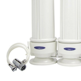 Crystal Quest Triple Cartridge White Lead Removal Countertop Water Filter System (CQE-CT-00166) - Purely Water Supply