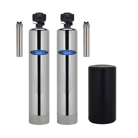 Crystal Quest Water Softener and Arsenic Removal Whole House Water Filter - Purely Water Supply