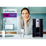 PRE ORDER Puricom ZIP Countertop Reverse Osmosis Water Purifier + FREE replacement filters - Purely Water Supply