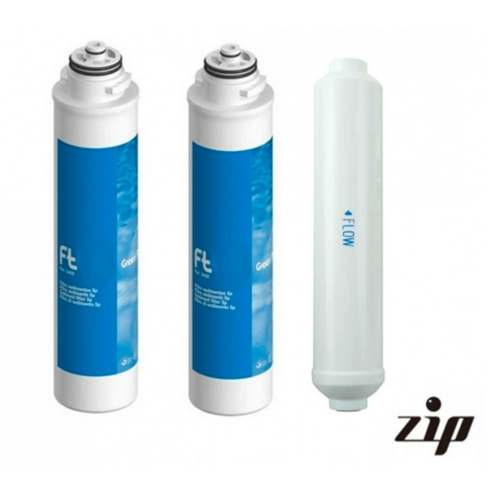 Puricom ZIP Reverse Osmosis Water Purifier Replacement Filters Bundle - Purely Water Supply