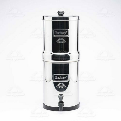 Travel Berkey Water Filter 1.5 gal with 2 Black Berkey Purification Elements (BT2X2-BB) - Purely Water Supply