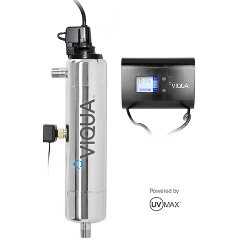 VIQUA 650695-R D4+ 12 GPM UV Whole House Water Filter and Purifier - Purely Water Supply