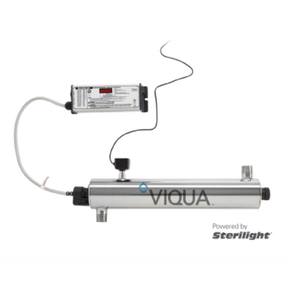 VIQUA VH410M 18 GPM UV Whole House Water Filter and Purifier with Sensor - Purely Water Supply