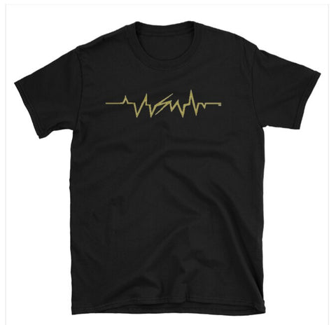 SM gold heartbeat shirt(limited edition)