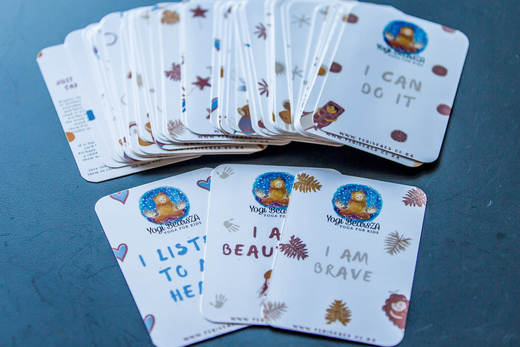 YogiBears Children's Affirmation Cards