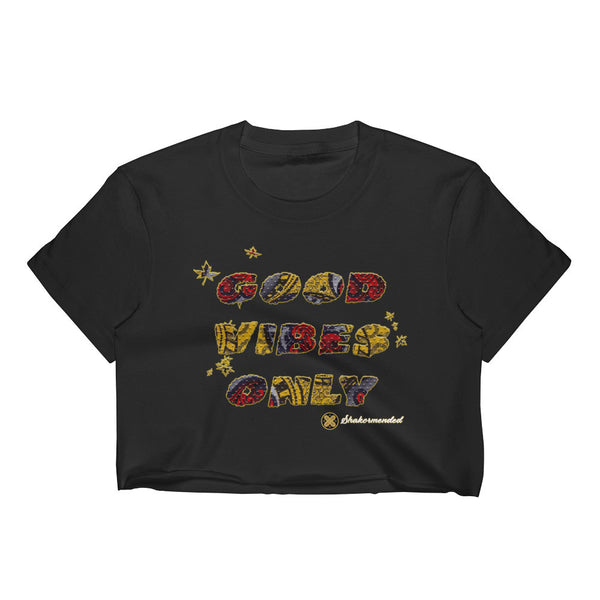 Good Vibes Only Women's Crop Top