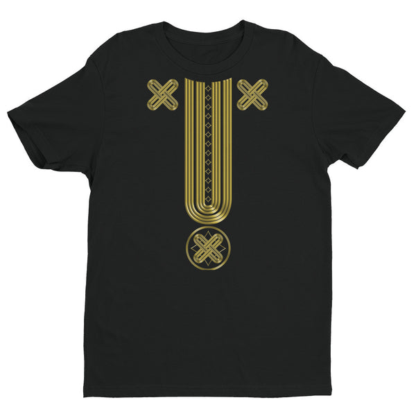Gold Native Pattern Tee