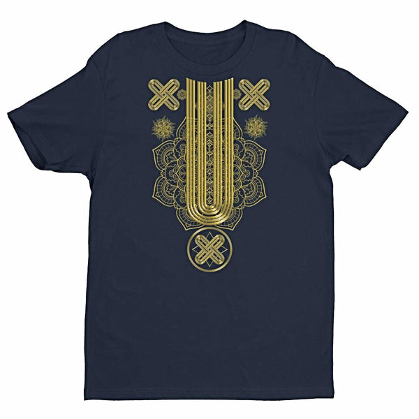 Gold Native Pattern Part 2 Tee