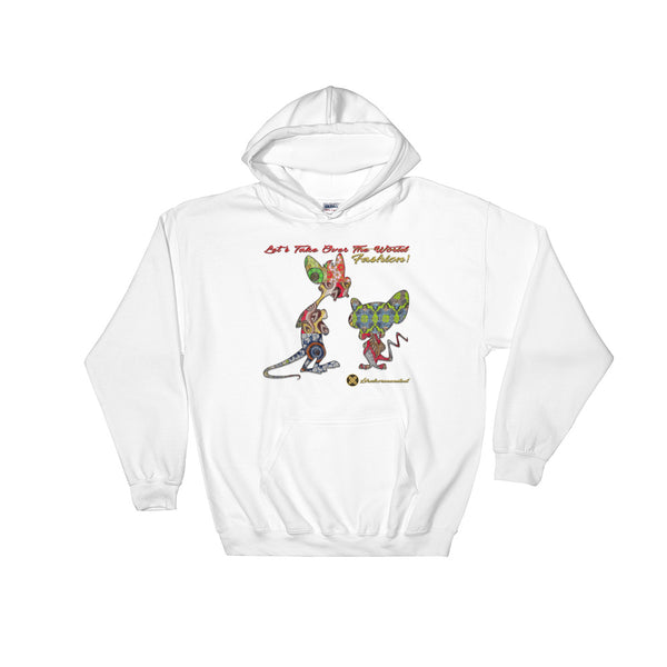 Let's Take Over Fashion Hooded Sweatshirt
