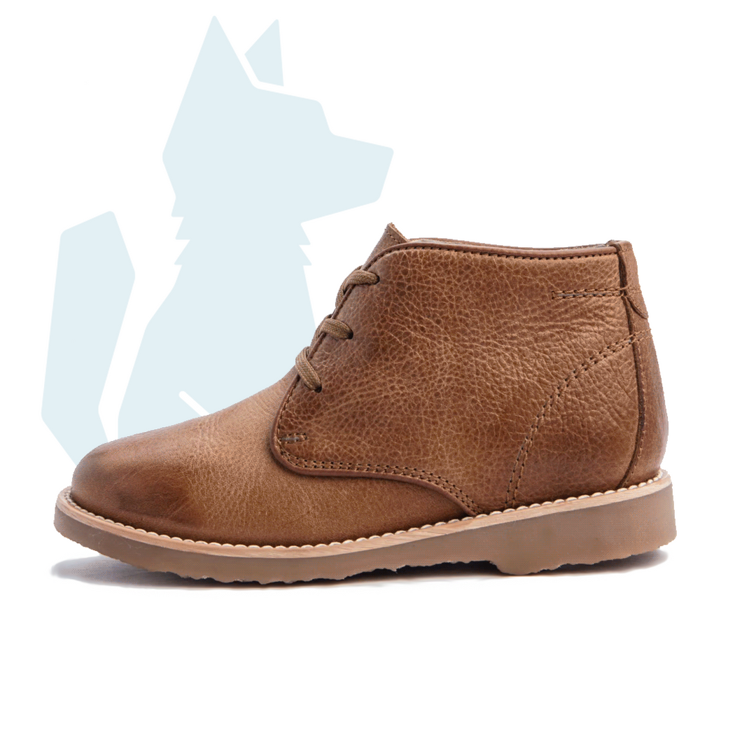 ESLO Children's Brown Leather Chukka Boot