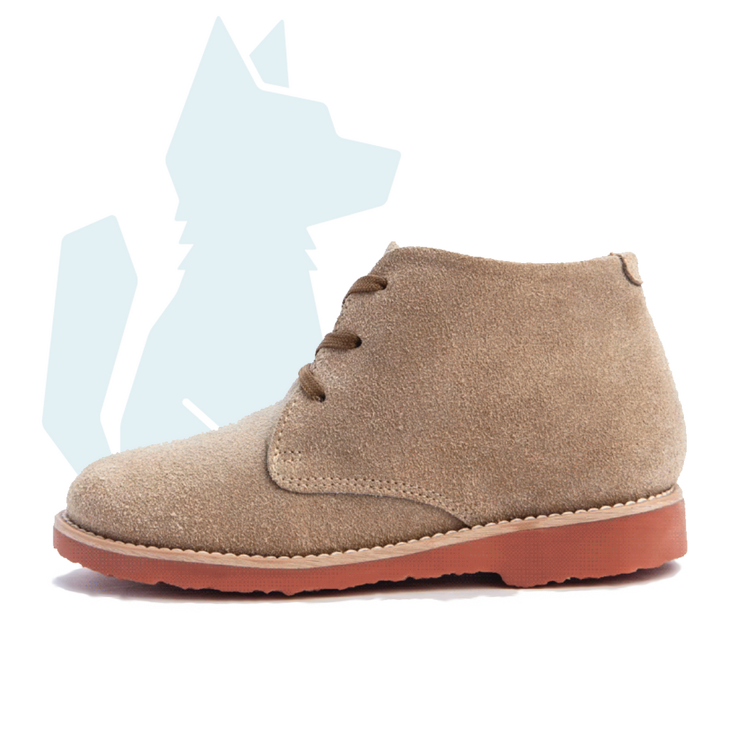 ESLO Children's Tan Suede Chukka Boot