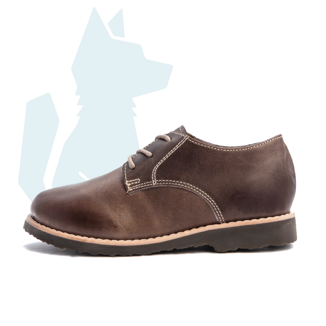 ESLO Children's Dark Brown Derby