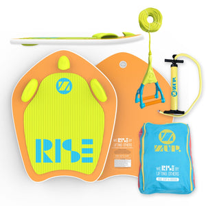 "COMBO ~ ""RiseZUP & BOOGIE"" Board, Carry Bag and DoubleZUP Handle"