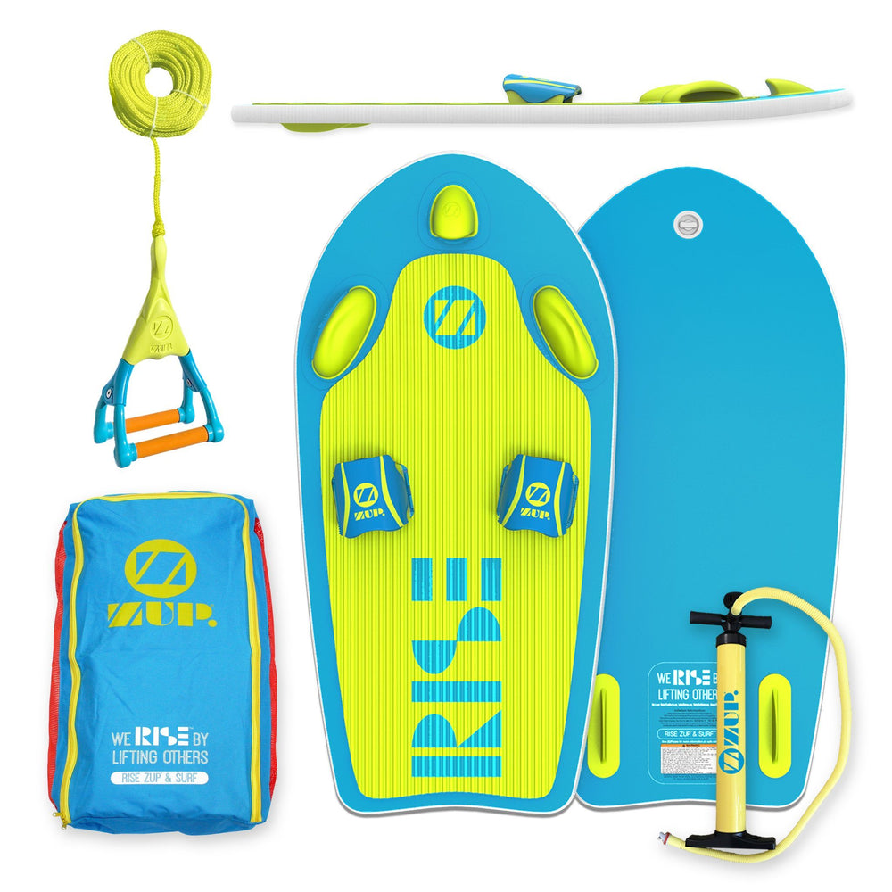 COMBO: RiseZUP & SURF Board, Carry Bag, DoubleZUP Handle