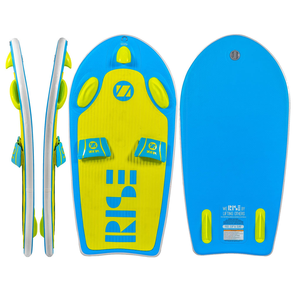 "COMBO ~ ""RiseZUP & SURF"" Board, Carry Bag and Beach Leash"