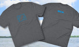 Zup Awesome Fit Mens Crew T-Shirt - Small / Grey Frost - Zup Swag