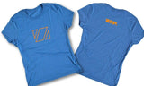 Zup Super Soft Womens Crew T-Shirt - Small / Maritime Frost - Zup Swag
