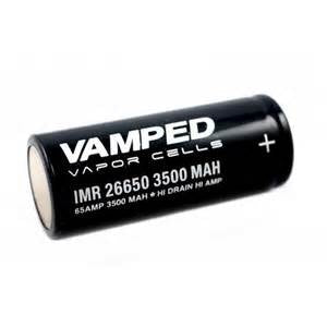 Vamped 26650 Battery