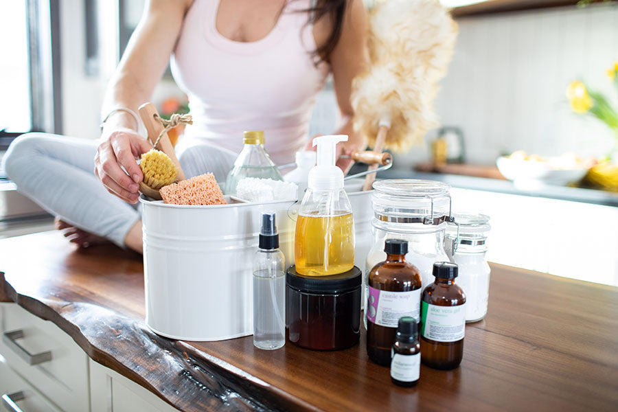 the benefits of cleaning with essential oils