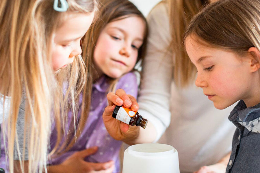 diluting essential oils for kids safe drop counts