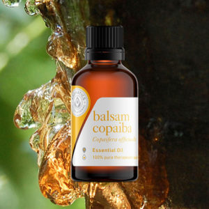 Essential Oils for Valentine's Day Blog balsam copaiba oil