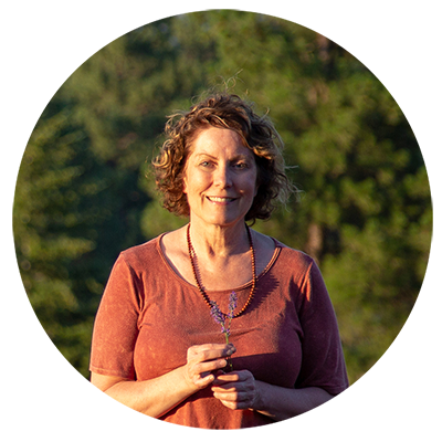 Karen Williams, our head aromatherapist and lead product sourcer