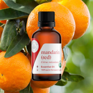 Essential Oils for Valentine's Day Mandarin Red Oil