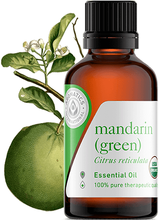 mandarin green oil