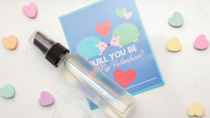 How to use essential oils for valentine's day scented cards recipe