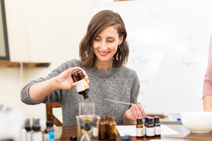 Take your aromatherapy certification to the next level!