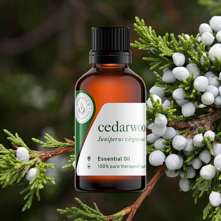 essential oils for st. patrick's day cedarwood oil