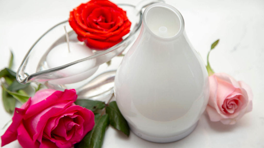 how to use essential oils for valentine's day diffuser