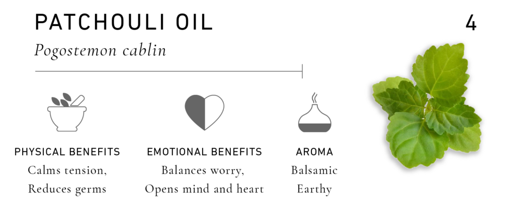 Essential Oils for Men: Patchouli