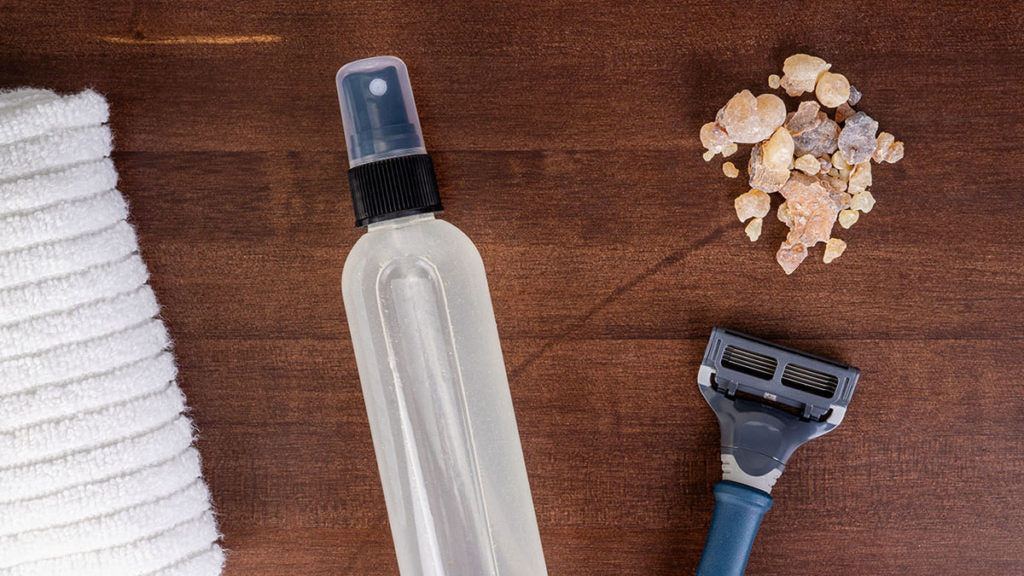 Frankincense Aftershave Essential Oil Recipe