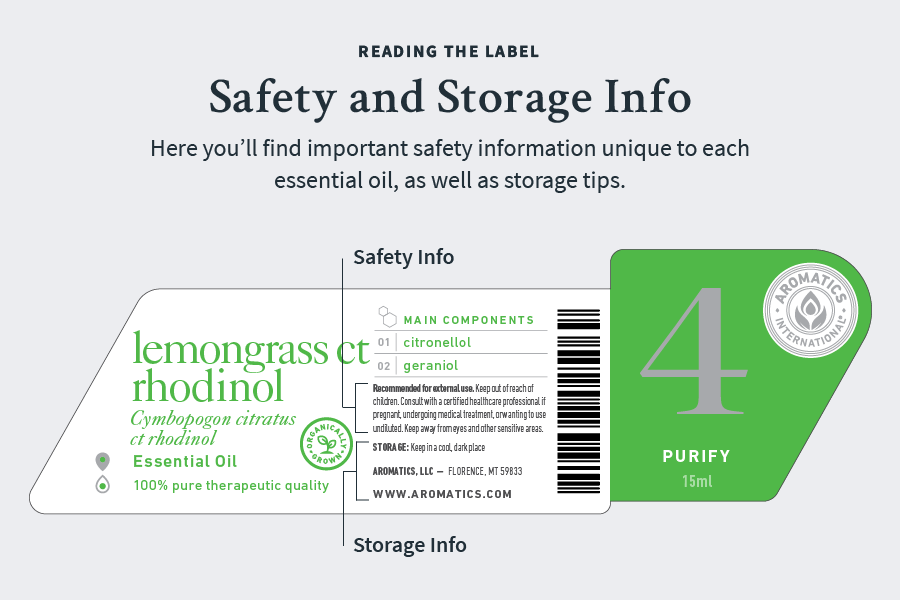 reading the label safety and storage