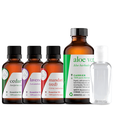 Aloe Hand Cleanser Recipe Kit