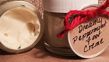 Dreamy Peppermint Foot Creme
