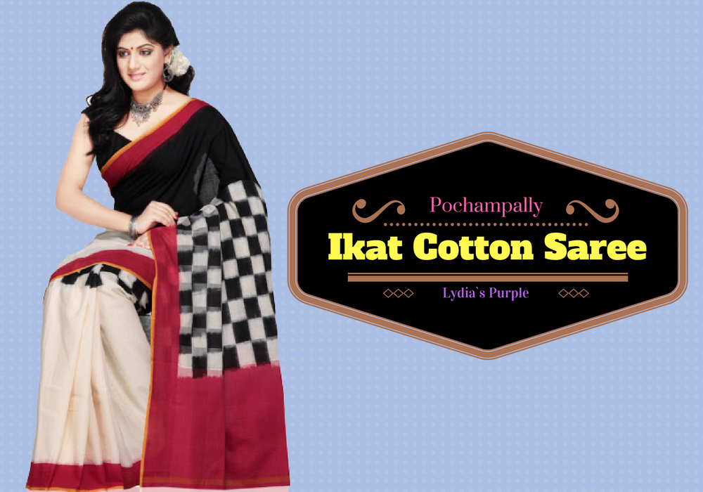 Pochampally Ikat cotton Sarees