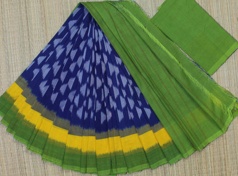 PCBG01- Pochampally ikkat Cotton Saree