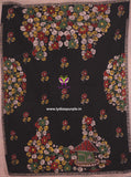 KRBBP-04 Designer Kalamkari Multi colour Blouse Piece - LydiasPurple
